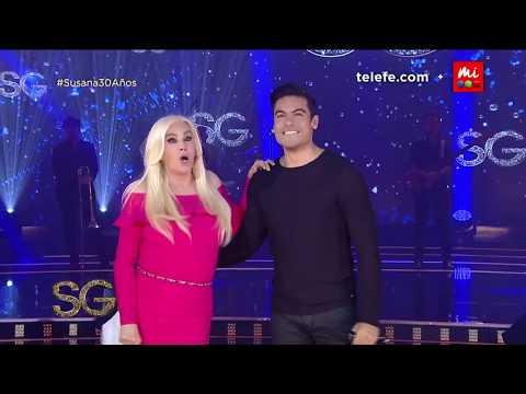"""Carlos Rivera canta """"Lo digo"""" en vivo - Susana Giménez 2017"""
