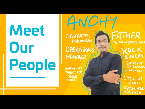 Meet Our People - Andhy from Indonesia - Thales