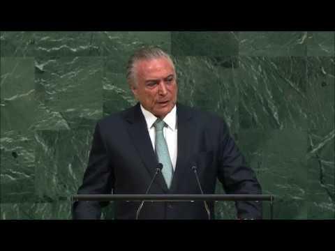 Brazil - President Addresses General Debate, 72nd Session