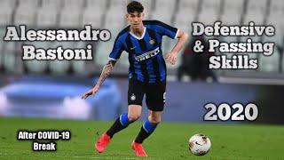 Alessandro Bastoni ● 2020 ● Defensive&Passing Skills💙🖤 ● After COVID-19 Break