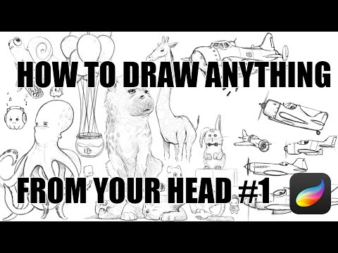 How To Draw Anything From Your Head #1