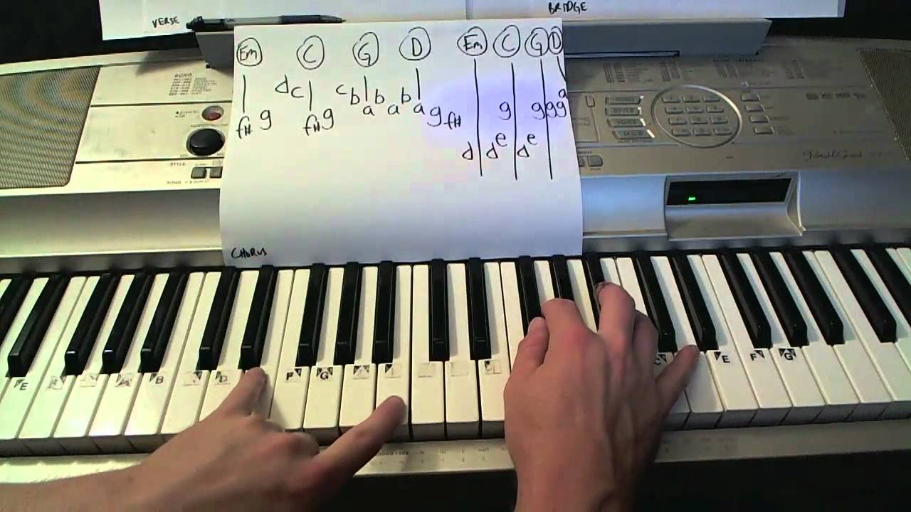 Sing- Piano Lesson- Gary Barlow & the Commonwealth Band (Todd Downing)