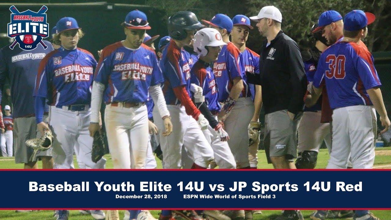 JP Sports Red vs Baseball Youth Elite 14U
