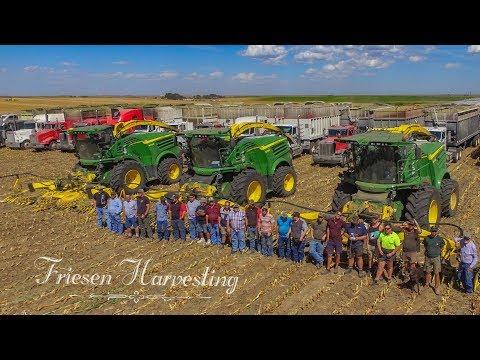 Friesen Harvesting-Kansas Fall Harvest 2017