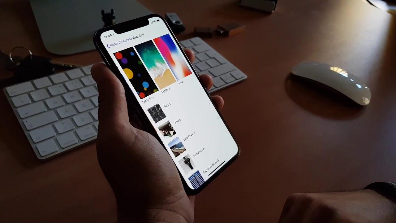 IPhone X: O Wallpaper Que O Vai Tornar Transparente
