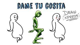 DAME TU COSITA | Draw My Life La hª del meme de Musical.ly a Youtube