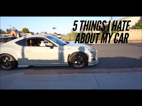 5 things I hate about my Rocket Bunny RS 2 FRS