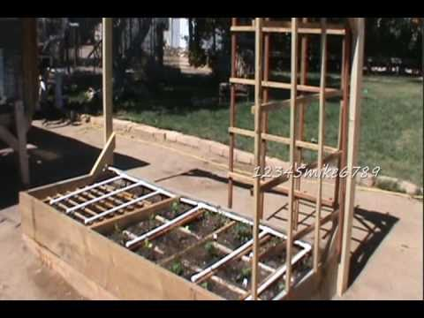 diy build 6 garden trellises out of red wood fence boards how