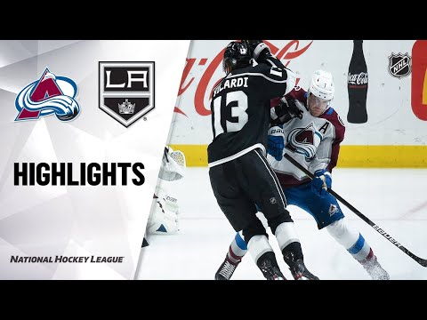 Avalanche @ Kings 5/7/21 | NHL Highlights