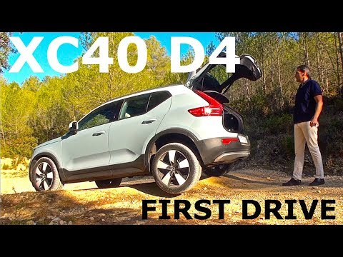 Volvo Xc40 D4 Awd First Drive