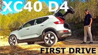 Volvo XC40 D4 AWD, first drive