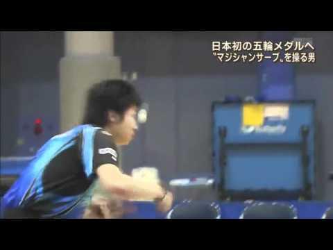 Kỹ thuật giao bóng của Jun Mizutani ( Giao bóng thuận tay )