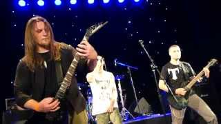 """Temple Of Silence - The Chainheart Machine (Soilwork Cover) (Live at """"Metropol""""club,Kiev,07.06.2015)"""