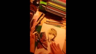 Genjo Sanzo Speed Drawing/painting (saiyuki)