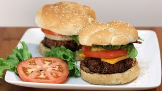 How to Make a Juicy Hamburger | Easy Homemade Hamburger Recipe