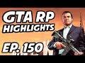 GTA RP Daily Highlights   Ep. 150   KatieRouu, PENTAhearth, BuckkNaked, FinKone, Ssaab, PmsProxy