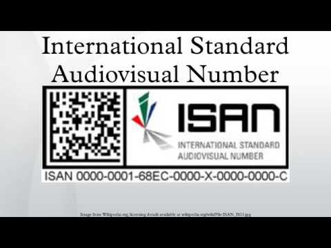 International Standard Audiovi...