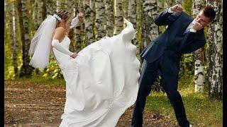 Невеста избила жениха