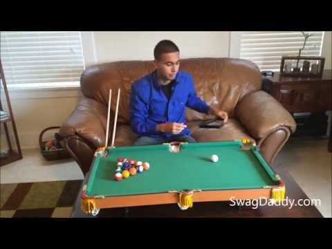 Club Fun Tabletop Mini Pool Table - SwagDaddy