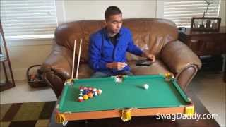 Club Fun Tabletop Mini Pool Table - Swagdaddy
