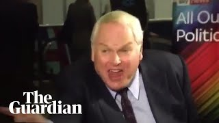 Adam Boulton swears at colleagues in off-air outburst