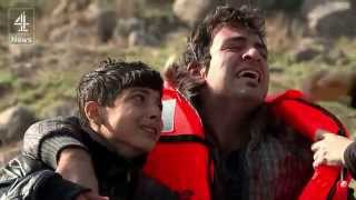 Lesbos refugee crisis continues