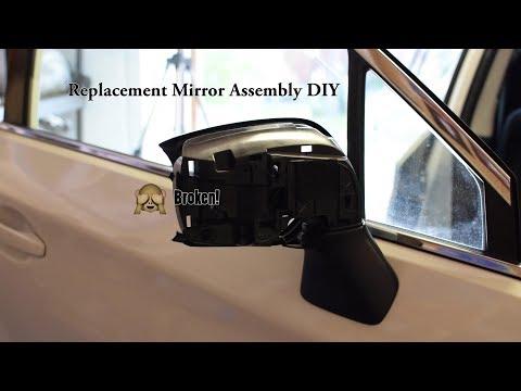Subaru Passenger Side Mirror Replacement DIY