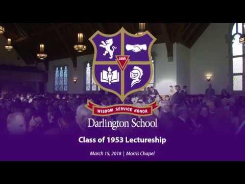 '53 Lectureship 2018 | Gen. James F. Amos