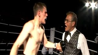 Classic Unlicensed Boxing - The Referee Ain't Happy!