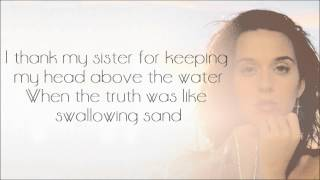 Katy Perry - By The Grace of God [Karaoke/Instrumental] with lyrics