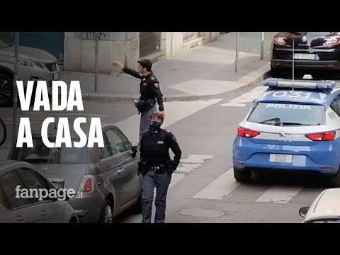 Milano, donna esce per comprare birra, la polizia la ferma e i residenti applaudono