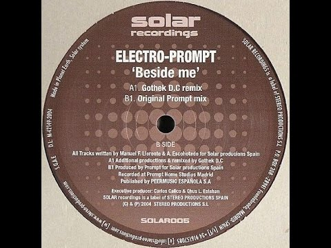 Electro Prompt ‎– Beside Me (Gothek D.C Remix)