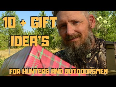 GIFT IDEA'S FOR HUNTERS OR OUTDOORSMAN | TEN+ ITEMS THAT ARE ON MY GO-TO LIST THAT I ALWAYS BRING