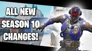 Fortnite - All Season 10 Map Changes & Hidden Secrets in Week 1