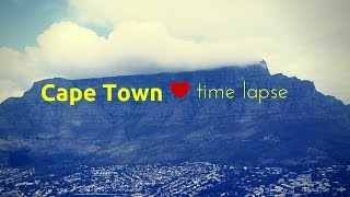 Cape town, south africa - time lapse
