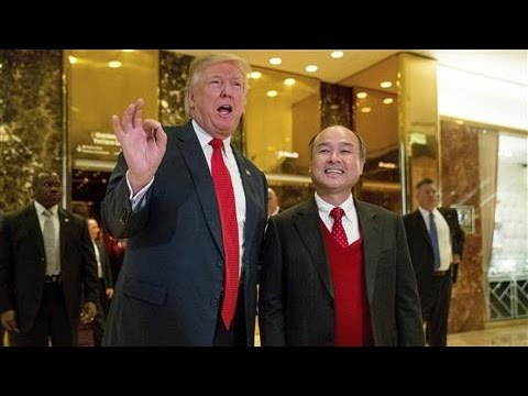 SoftBank CEO to Invest $50 Billion in U.S. After Trump Meeti