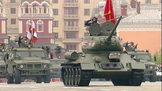 Военный Парад, посвященный 74-й годовщине Великой Победы