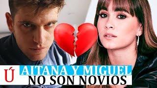 Aitana soltera o al menos no con Miguel Bernardeau, según la última entrevista del actor de Élite