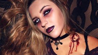 Vampire Makeup & Costume