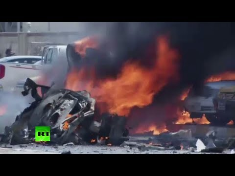 More blasts, more deaths: Video of immediate aftermath of Iraq car bombings