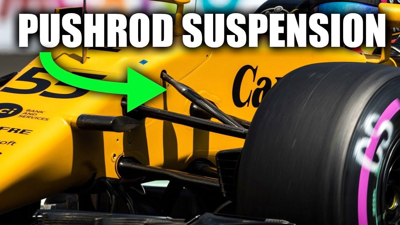 How Pushrod Suspensions Work - Formula 1 Explained