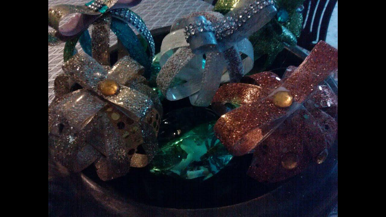 Diy esferas de navidad hechas de botella de plastico - Esferas de navidad ...
