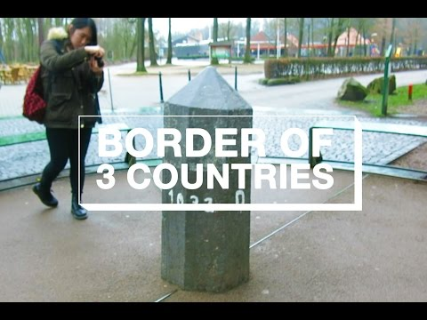 TRIPOINT: BORDER OF NETHERLANDS, GERMANY, BELGIUM