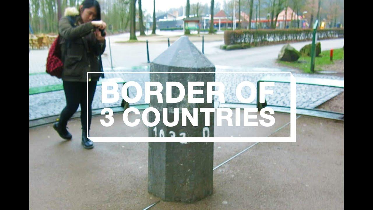 TRIPOINT BORDER OF NETHERLANDS GERMANY BELGIUM  YouTube