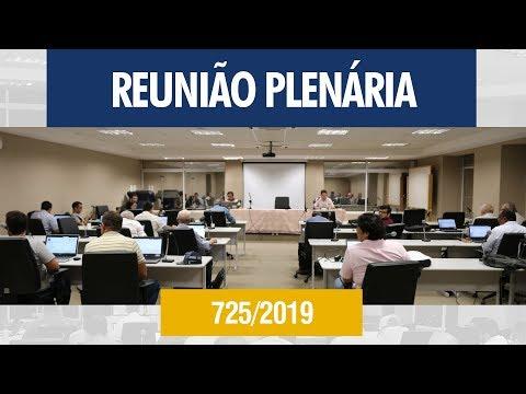 725ª Reunião Plenária - Crea-AL