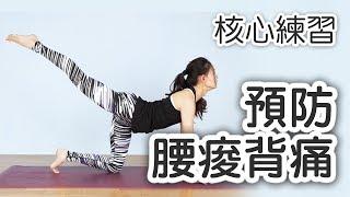 預防腰酸背痛!五個核心練習|Vava老師|YogaAsia 亞洲瑜伽