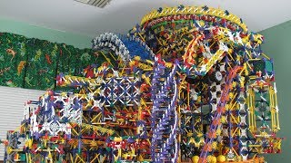 Citadel Knex Ball Machine - Over 45 New Elements!