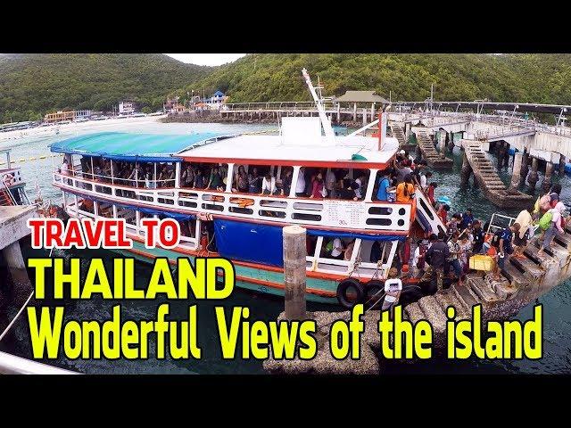 Travel To Thailand Pattaya Wonderful Views of The Island