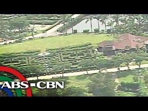 Aerial view ng tinaguriang 'Hacienda Binay'