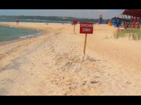 Воронка у берега утаскивает людей на дно